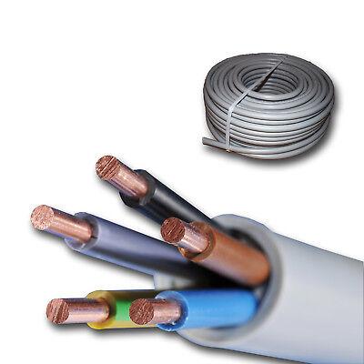 !! NYY-J 4x6 mm² NYY J 4 6 Erdkabel Stromkabel ab 2 meter abgemessen