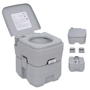 portable toilet travel mobile camping wc chemical urinal. Black Bedroom Furniture Sets. Home Design Ideas