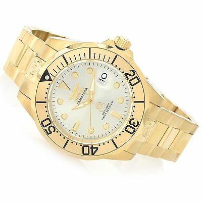 @NEW Invicta 47mm Grand Diver Automatic Stainless Steel Bracelet Watch 3051