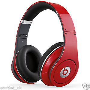 Beats By Dr Dre Studio 1 0 Over Ear Wired Headphone Red