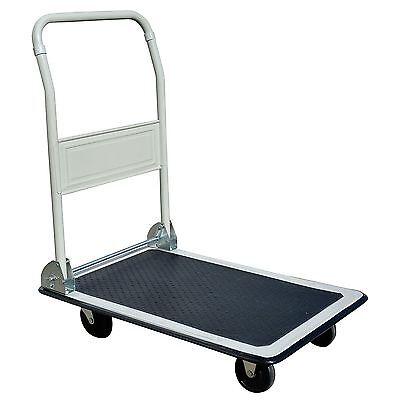 Pro Series Folding Platform Truck Warehouse Cart Delivery Dolly 330 Lb. Capacity
