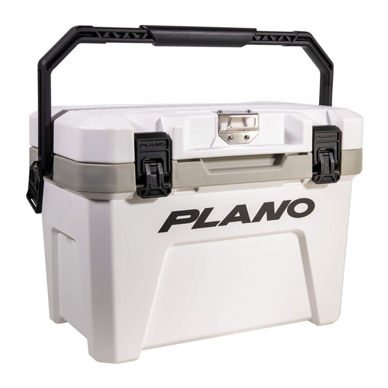 Plano Frost 14 Quart Heavy Duty Cooler w/ Built In Bottle Opener and Dry Basket