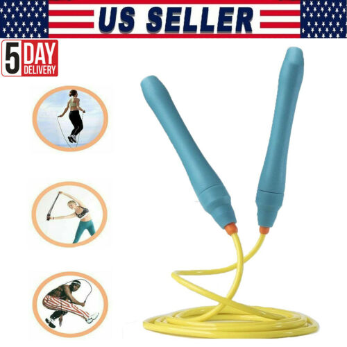 MMA Boxing Speed Cardio Gym Exercise Fitness Skipping Jump Rope 3M PVC Crossfit