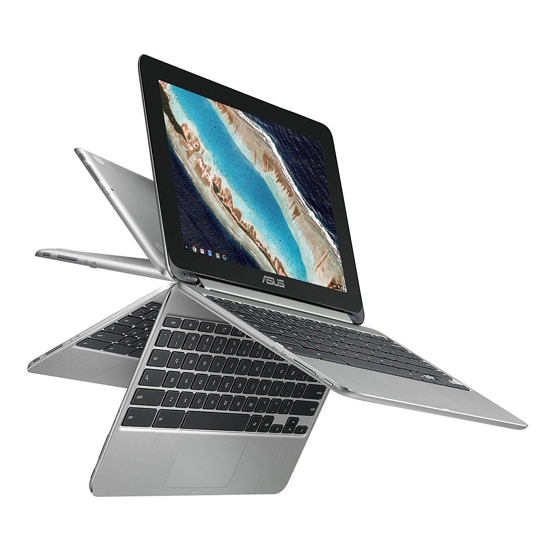 ASUS Chromebook Flip C101PA-DS04 10.1inch Rockchip RK3399 Qu