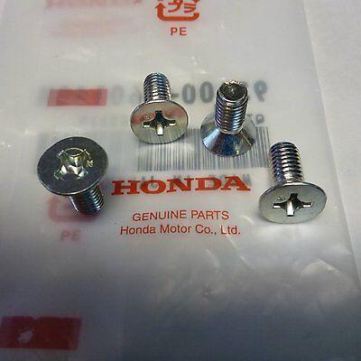 Genuine Honda OEM Disc Brake Rotor Screw 4 Packs Fits All 1986 2016 OEM OEM