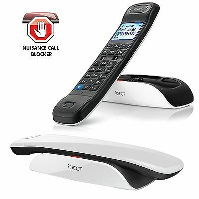 iDect LOOP Home Telephone Cordless Landline Call Blocking & Answer Machine, Twin