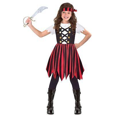 Piraten Cutie Mädchen Kostüm Kleid Outfit Kopftuch Buchwoche - Kostüm Mädchen Buch Woche