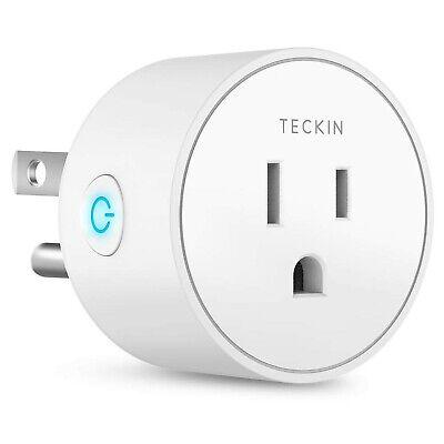 Mini Enchufe Inteligente Compatible Con Alexa Y Google Assistant, Teckin