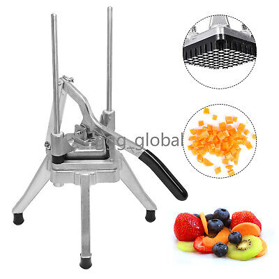 38 Commercial Vegetable Fruit Block Dicer Stainless Steel Shaper Tomato Slicer