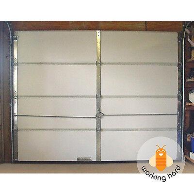 GARAGE DOOR INSULATION KIT 8 Piece Expanded Polystyrene Foam Panel Save Energy