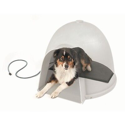 LektroKennel Small Igloo Heated Pad - FREE Ultra-Soft Faux Lambskin Cover!