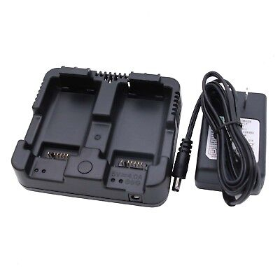 New Nikon Nivo 2m 5m 2c 3m 1m Equivalent Dual Charger For Nikon Total Stations