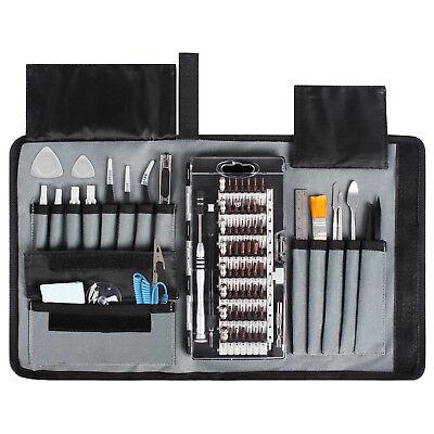 80 Piece Precision Repair Tool Kit Electronics Screwdriver Computer Smartphone