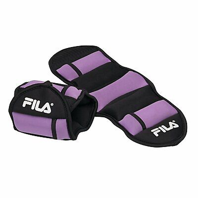 FILA Accessories Adjustable Ankle Weights 5 lb Weight Set Tw