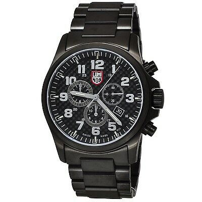 Luminox 1942 Atacama Field Alarm Chrono Gunmetal/Black Stainless Steel Watch