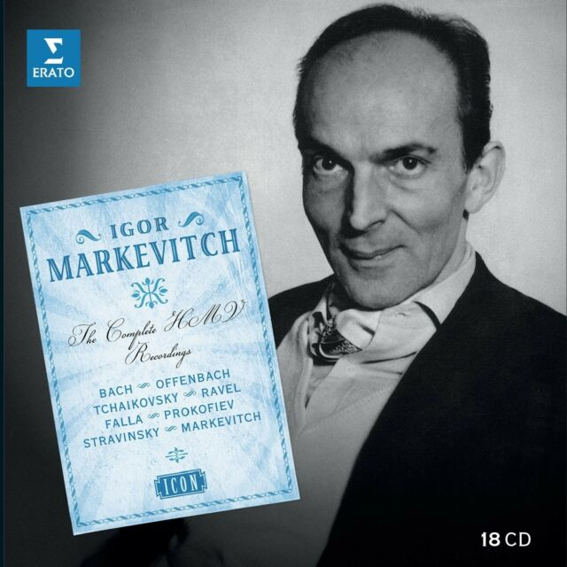 ICON:MARKEWITCH,IGOR(ICON/LTD.EDITION) 18 CD NEU BACH/OFFENBACH/RAVEL/PROKOFIE