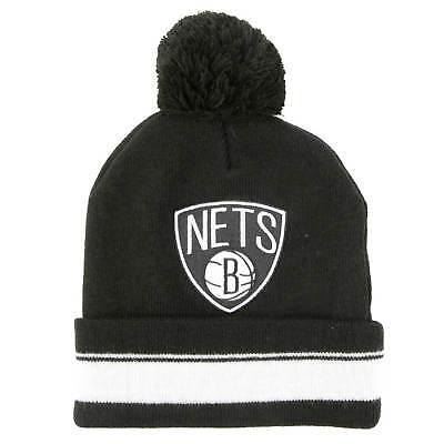 Mitchell and Ness Mütze Brooklyn Nets Beanie schwarz