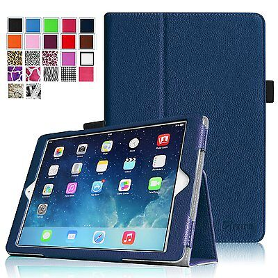 For iPad Air 1 iPad Air 2 tablet Slim Shell Folio  Smart Sta