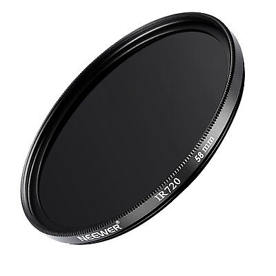 Neewer 58mm Circular Optical Glass Infrared Infra-Red Filter 720nm IR 720