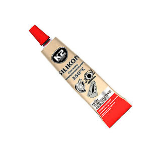 High Temperature Silicone +350°C Heat Resistant Liquid Gasket Sealant 21g Red