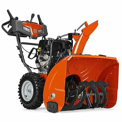 Husqvarna St224 24 Inch 208cc 2 Stage Thrower Electric Start Snow Blower