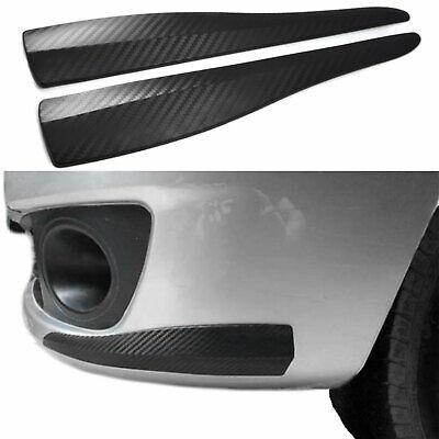 2x Universal Spoiler Ecken Fender Stoßstange in Carbon Optik für viele Fahrzeuge