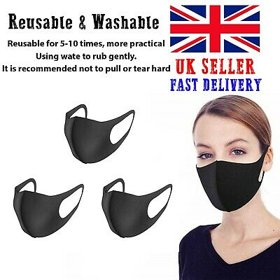 Face Mask - Face, Mouth | Nose Protection Mask Reusable | Washable | 3 PCS OFFER