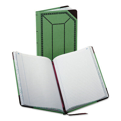 Boorum Pease Recordaccount Book Record Rule Greenred 150 Pages 12 12 X 7 5
