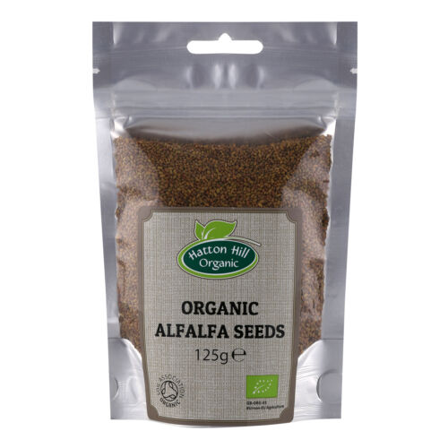 Organic+Alfalfa+Seeds+for+Sprouting+125g+Certified+Organic