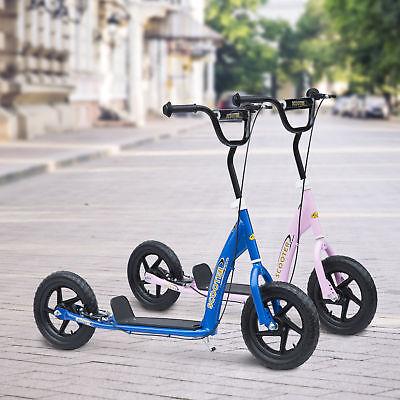 HOMCOM Kinderroller Tretroller Scooter Cityroller Kinder Roller Bike 12 Zoll
