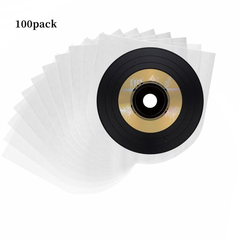 NEW 100Pcs LP Vinyl Record Inner Cover Sleeves 0.028mm 12