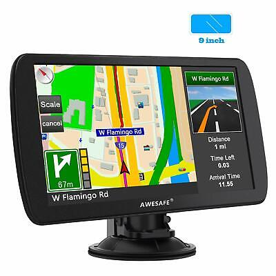 "Awesafe 9"" GPS Navi Navigation für Truck SAT NAV UK 8GB Europe Maps Free Update"