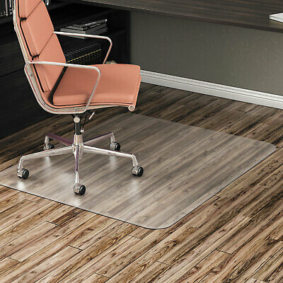 Alera Non-studded Chair Mat For Hard Floor 36 X 48 Clear Mat4660hfr