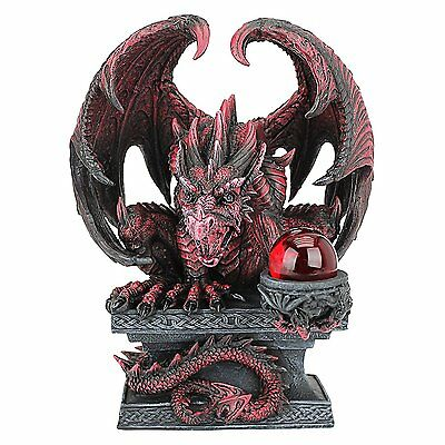 Dragon Wing Claw Statue Mythical Creature Medieval Gothic Decor Theme Artwork