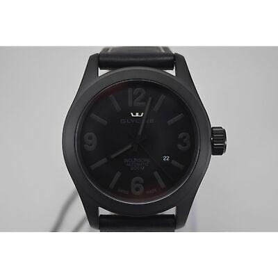 Glycine 3874.99.LB9B Men's INCURSORE Black Automatic Watch