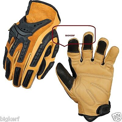 MECHANIX WEAR LEATHER GLOVES   WORK - SPORT - RIDING   SIZE - LARGE  CG50-75-010