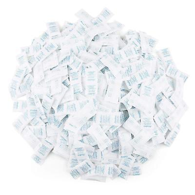 0.5g Gram Pack Of 300 Silica Gel Desiccant Beads Dryer Moisture Absorber Packets