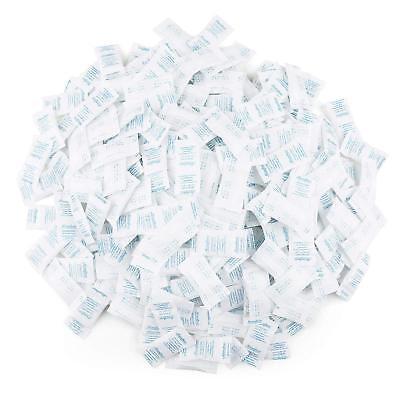 0.5g Gram Pack Of 300 Silica Gel Desiccant Beads Dryer Moisture Absorber Packets