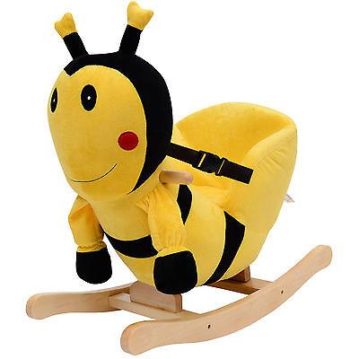 Schaukelpferd Plüsch Schaukeltier Pferd Lieder Spielzeug Kinder Baby Biene