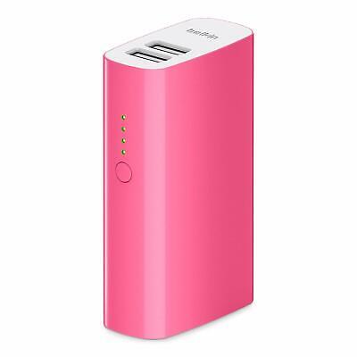 Power Bank Belkin F8M979btPNK - Batería externa 4000mAh MIXIT rosa