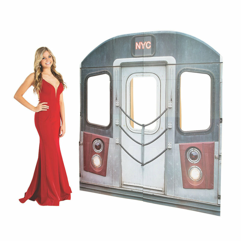 New York Subway Cardboard Stand-Up - Party Decor - 1 Piece