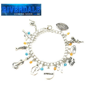 NEW RIVERDALE Pendant Charm Bracelet Inspired All logos - Extremely High Quality