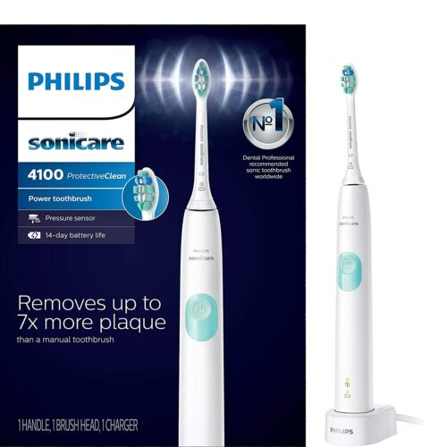 Philips Sonicare ProtectiveClean 4100 White Electric Toothbrush  NEW !!!!