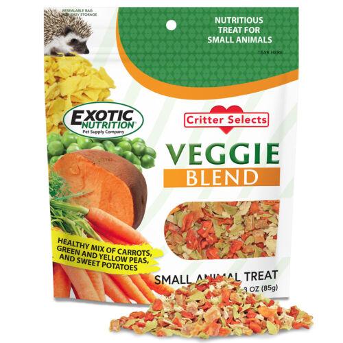 Veggie Blend Treat (3 oz.) - Healthy Treat - Sugar Glider, Hedgehog, Degu, More