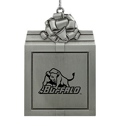 University At Buffalo The State University Of New York  Pewter Ornament Silver
