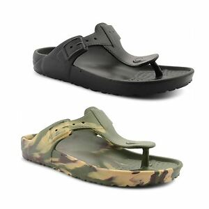 Mens-De-Fonseca-Rubber-Sandals-Summer-Beach-Shower-Mule-Flip-Flops-Size-UK-6-11
