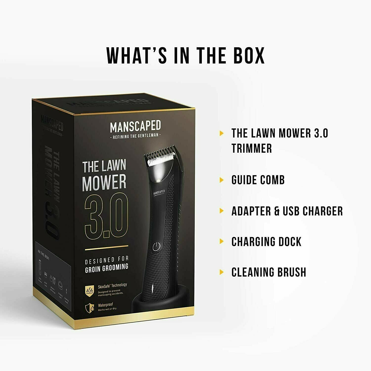 Manscaped The Lawn Mower 3.0 - Trimmer for Groin and Body Gr