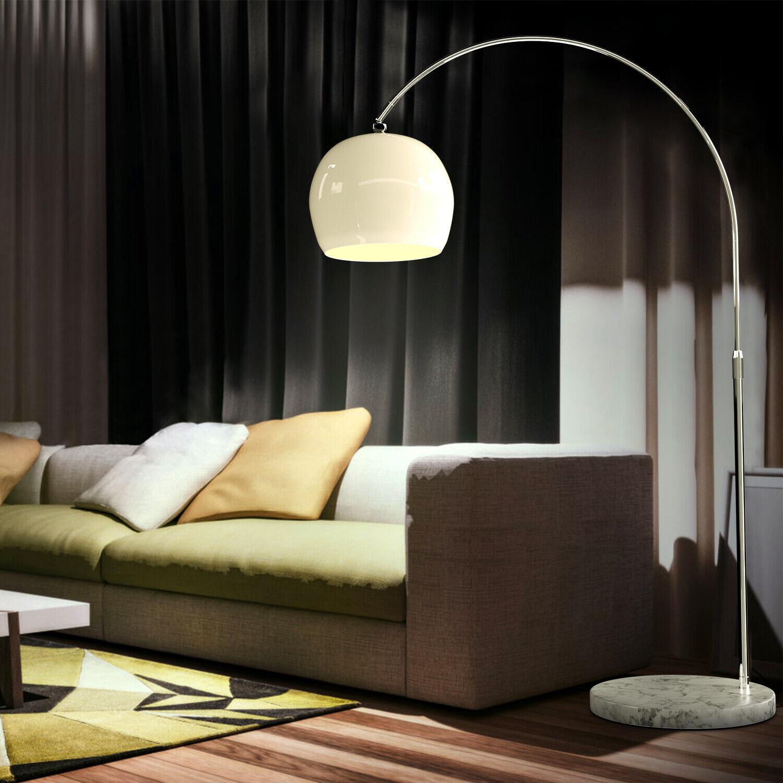LED Steh Lampe Touch Dimmer Schalter Wohn Zimmer ALU Decken Fluter beweglich