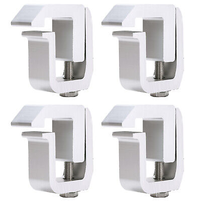 4 Pcs Truck Cap Camper Shell Mounting Clamps Chevy GMC Dodge Ram 1500 Ford F150
