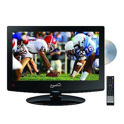 "15"" INCH HD LED TV 12v VOLT PORTABLE CAR KIT DC/AC TV DVD PLAYER COMBO NEW"